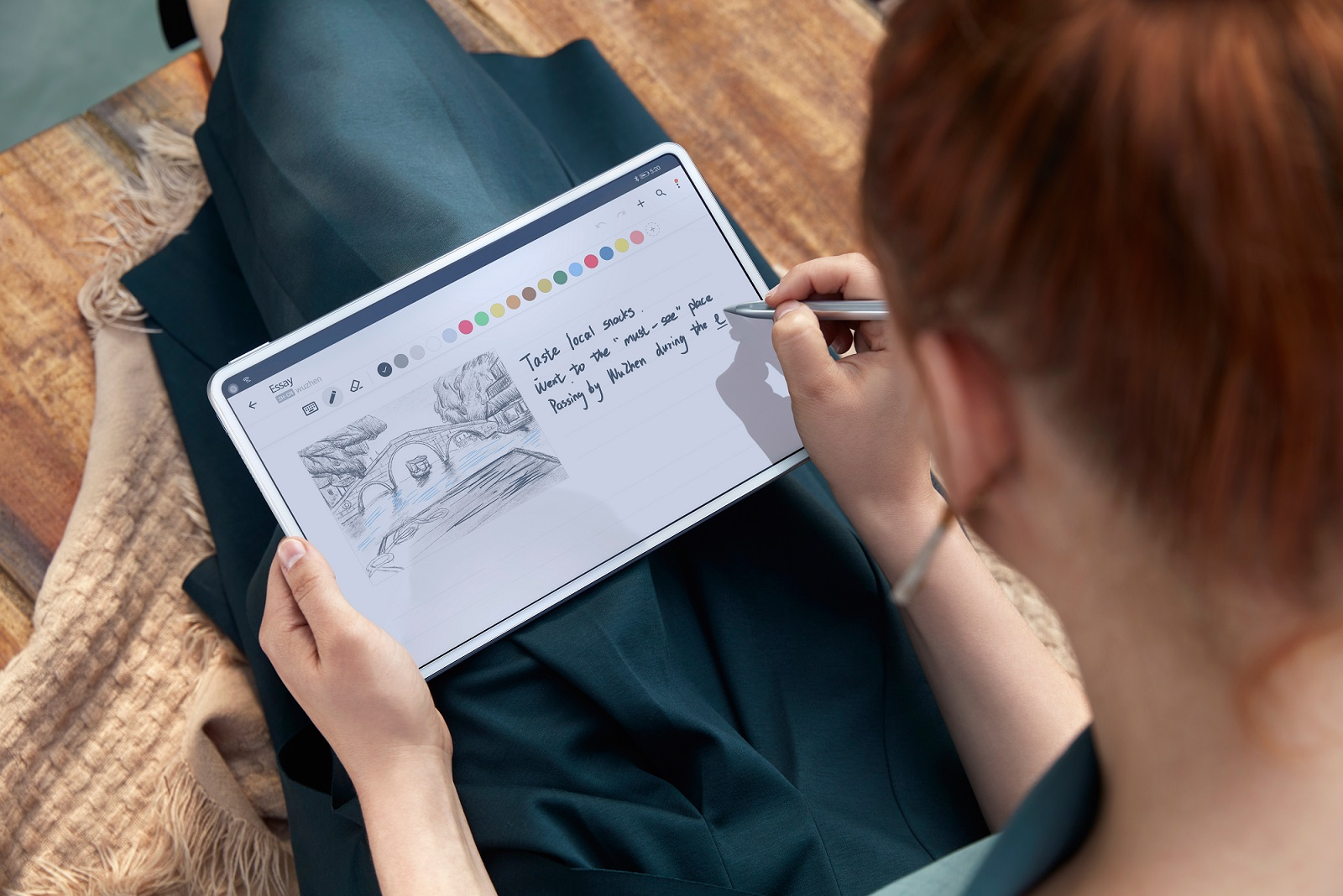Huawei prezentuje MatePad Pro 5G - pierwszy tablet z ładowaniem bezprzewodowym 22
