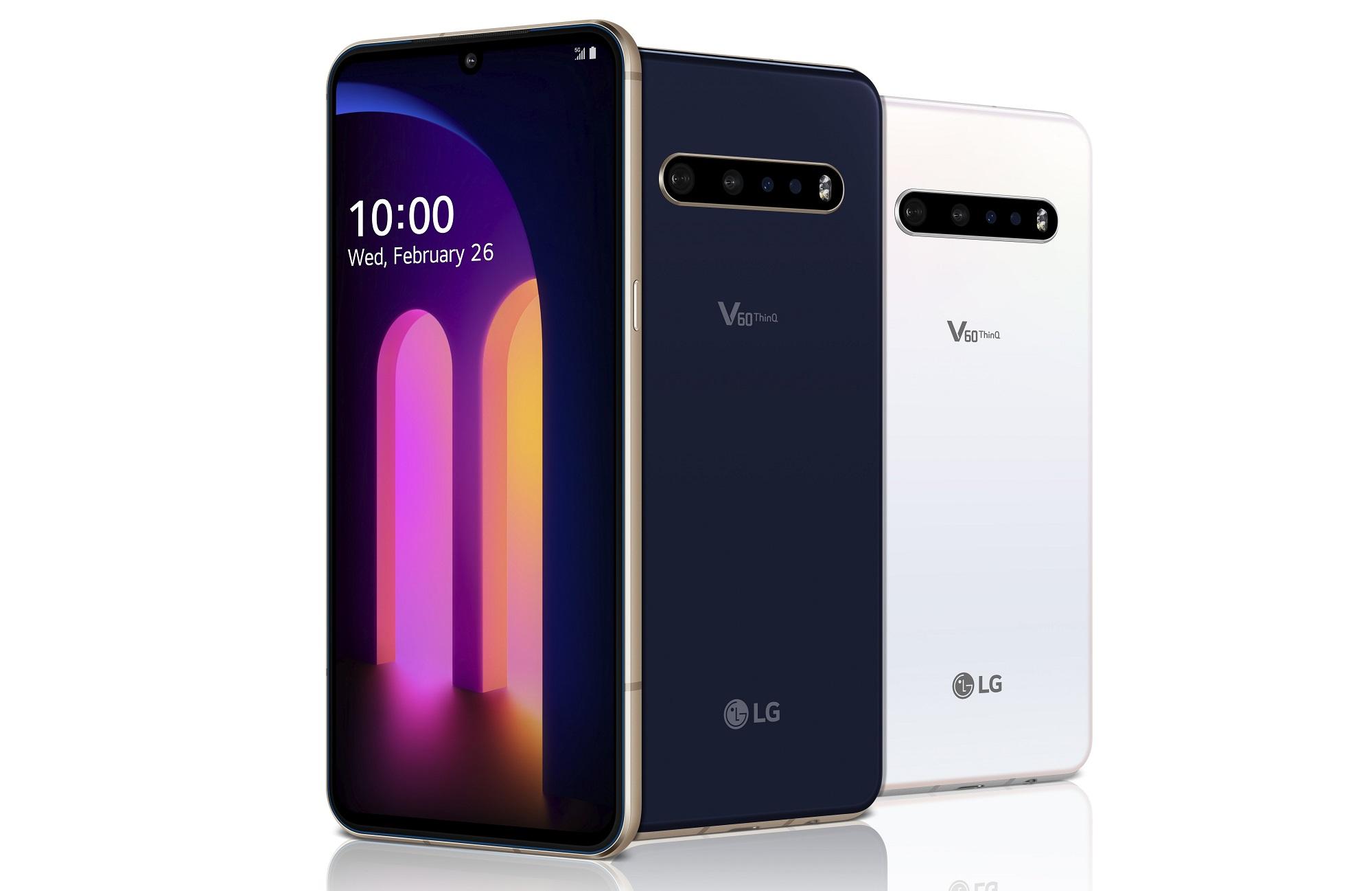 smartphone LG V60 ThinQ 5G