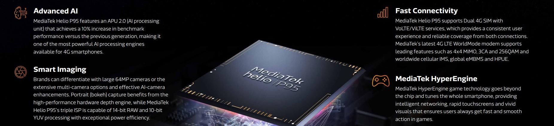 MediaTek zaprezentował nowy procesor - Helio P95
