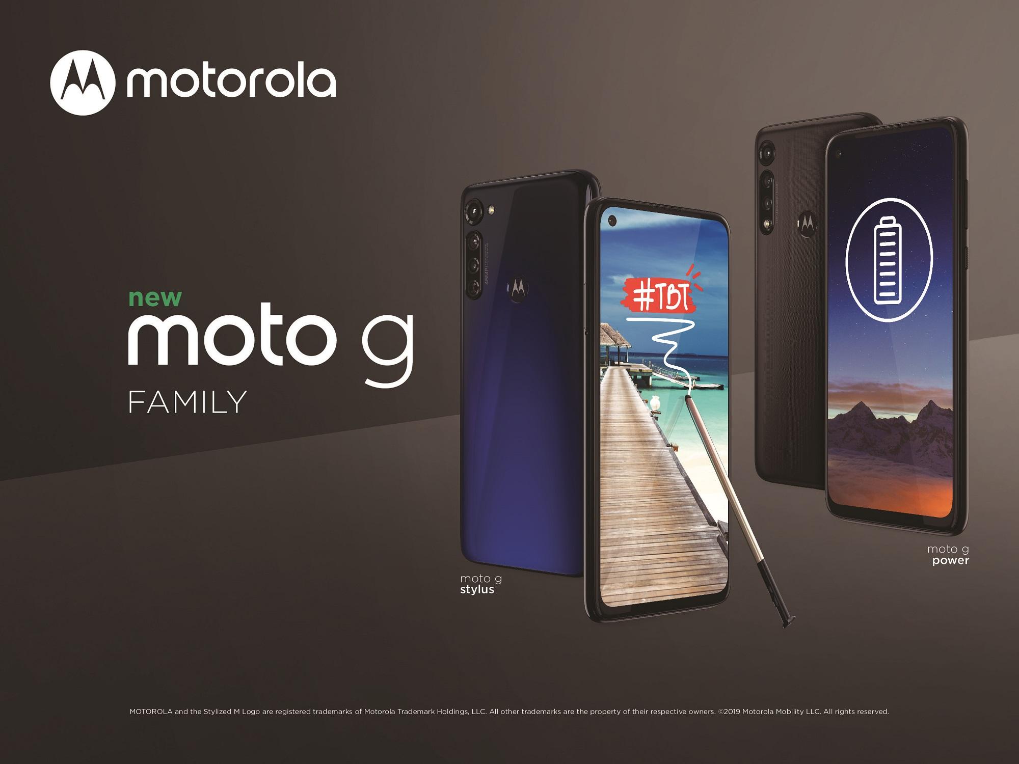 smartfon Motorola Moto G8 Power Motorola Moto G Stylus