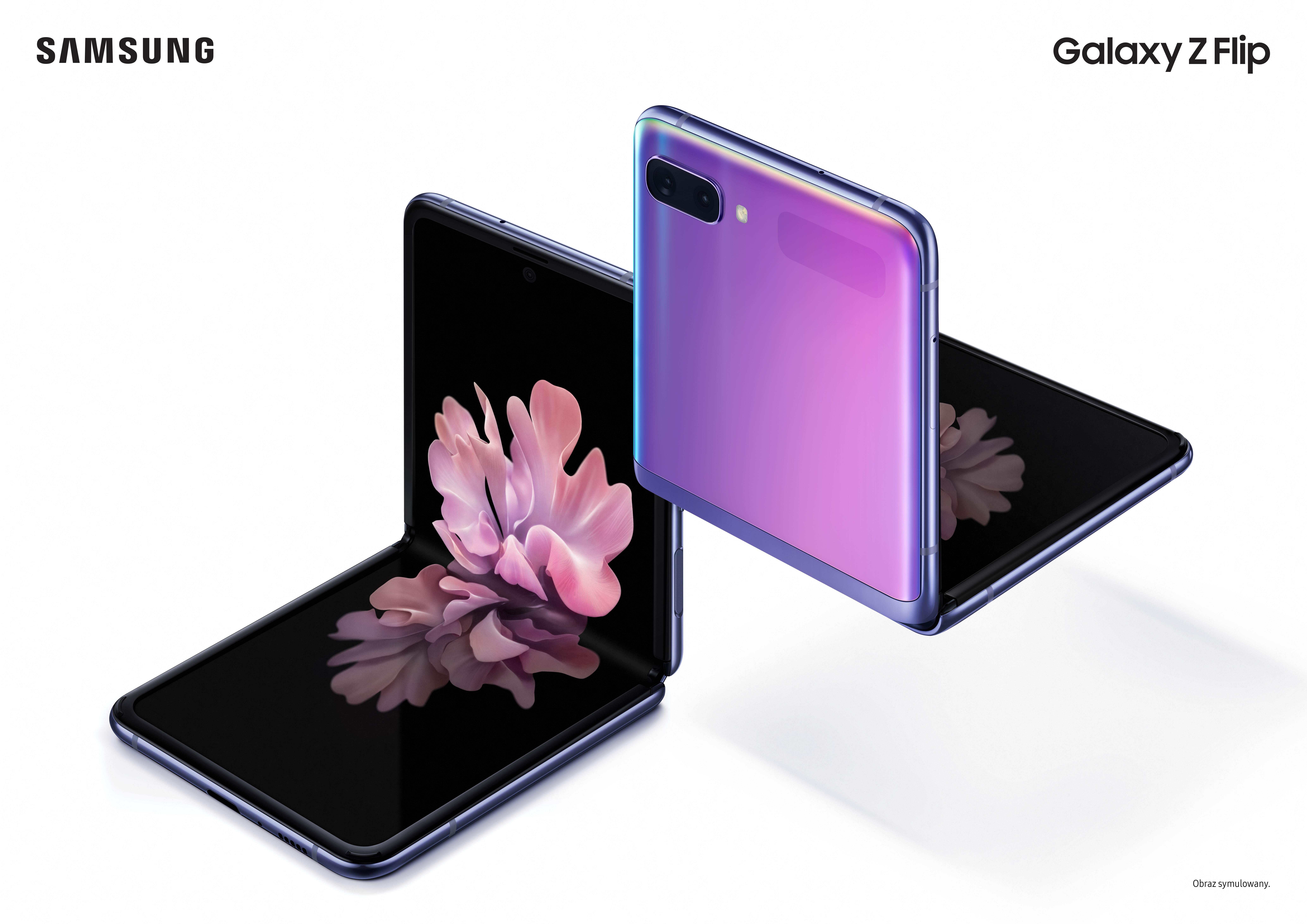 Drugie, lepsze podejście Samsunga do składanych ekranów: oto Galaxy Z Flip 21
