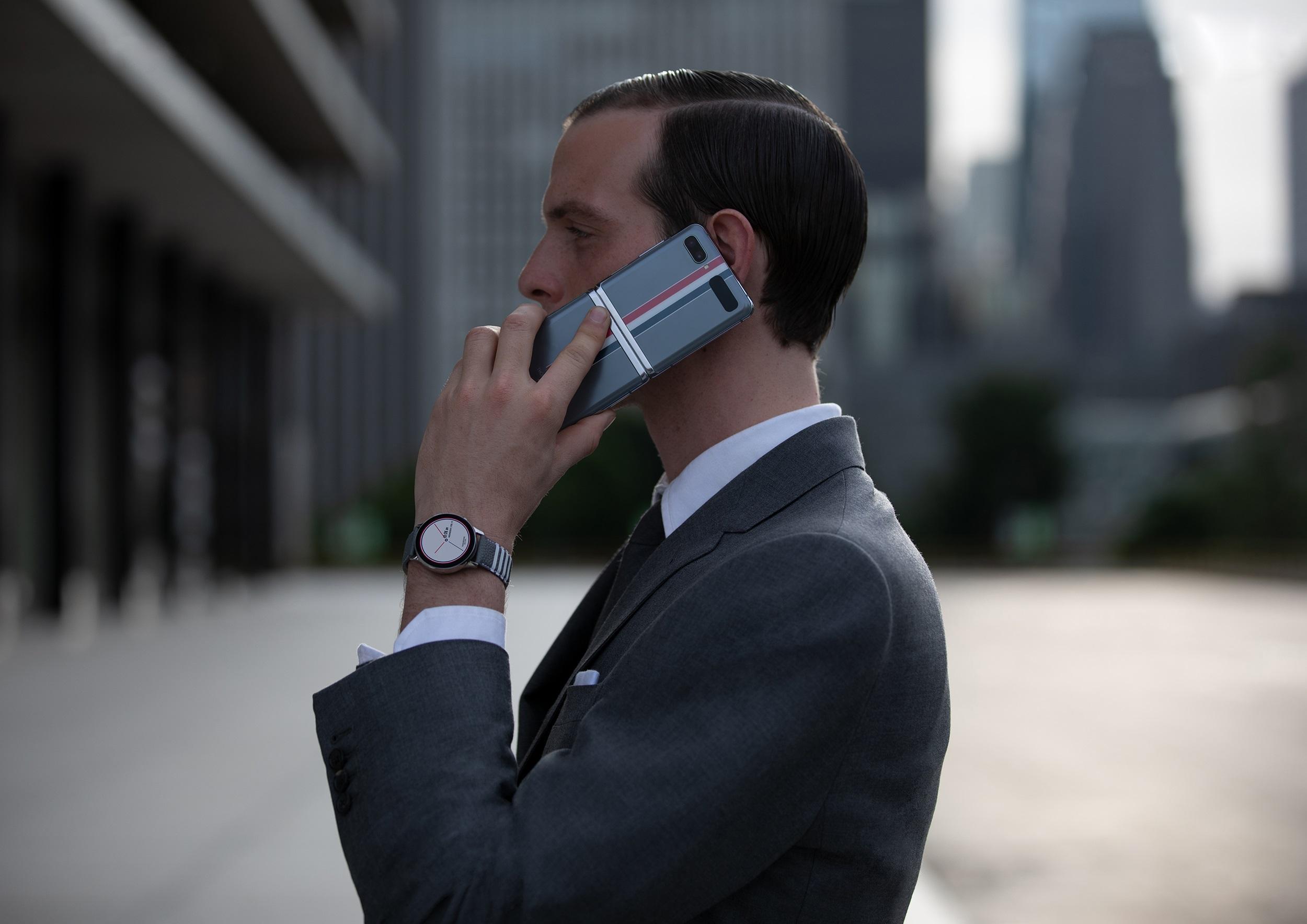 składany smartfon Samsung Galaxy Z Flip Thom Browne Edition