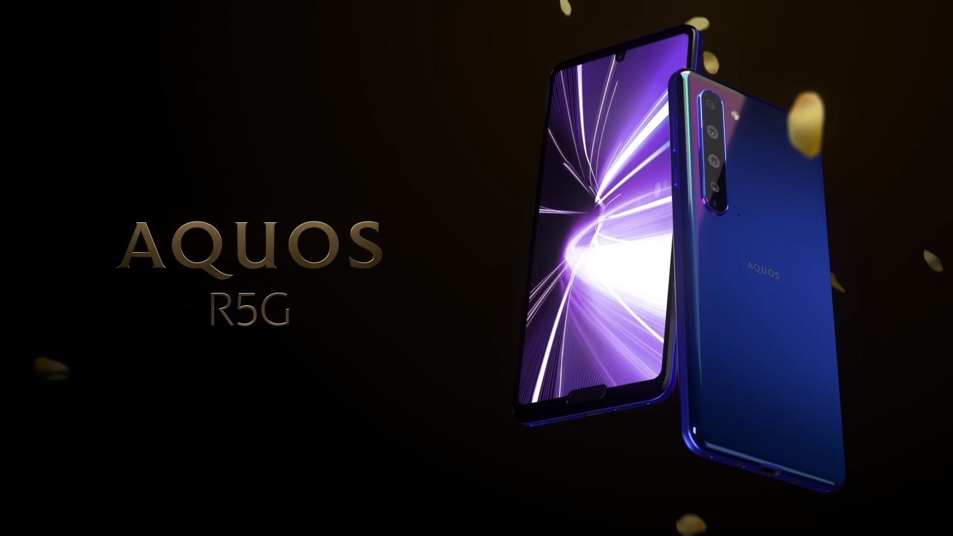 smartfon Sharp Aquos R5G