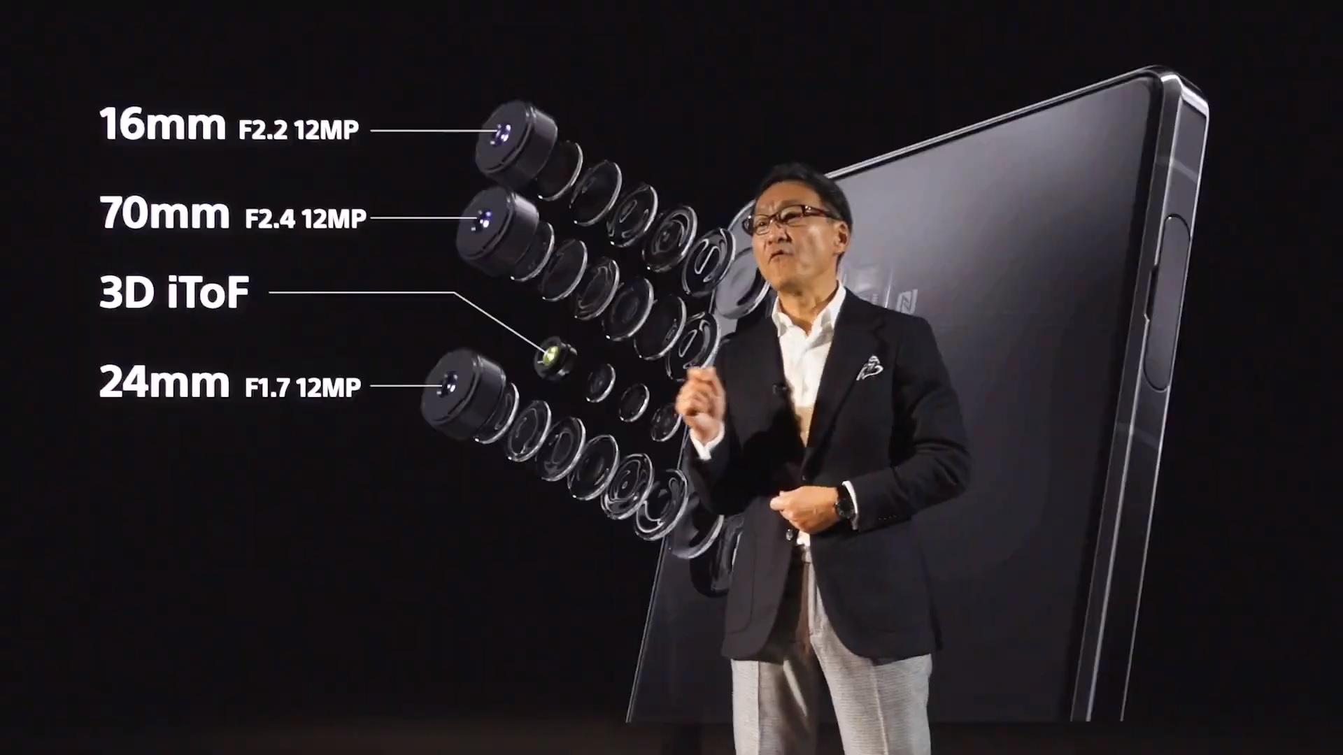 Sony Xperia 1 II 5G aparat