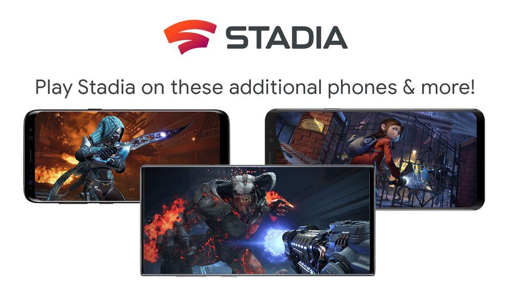 Google Stadia na smartfonach: do Pikseli dołączają Samsungi, Razery i Asusy 17