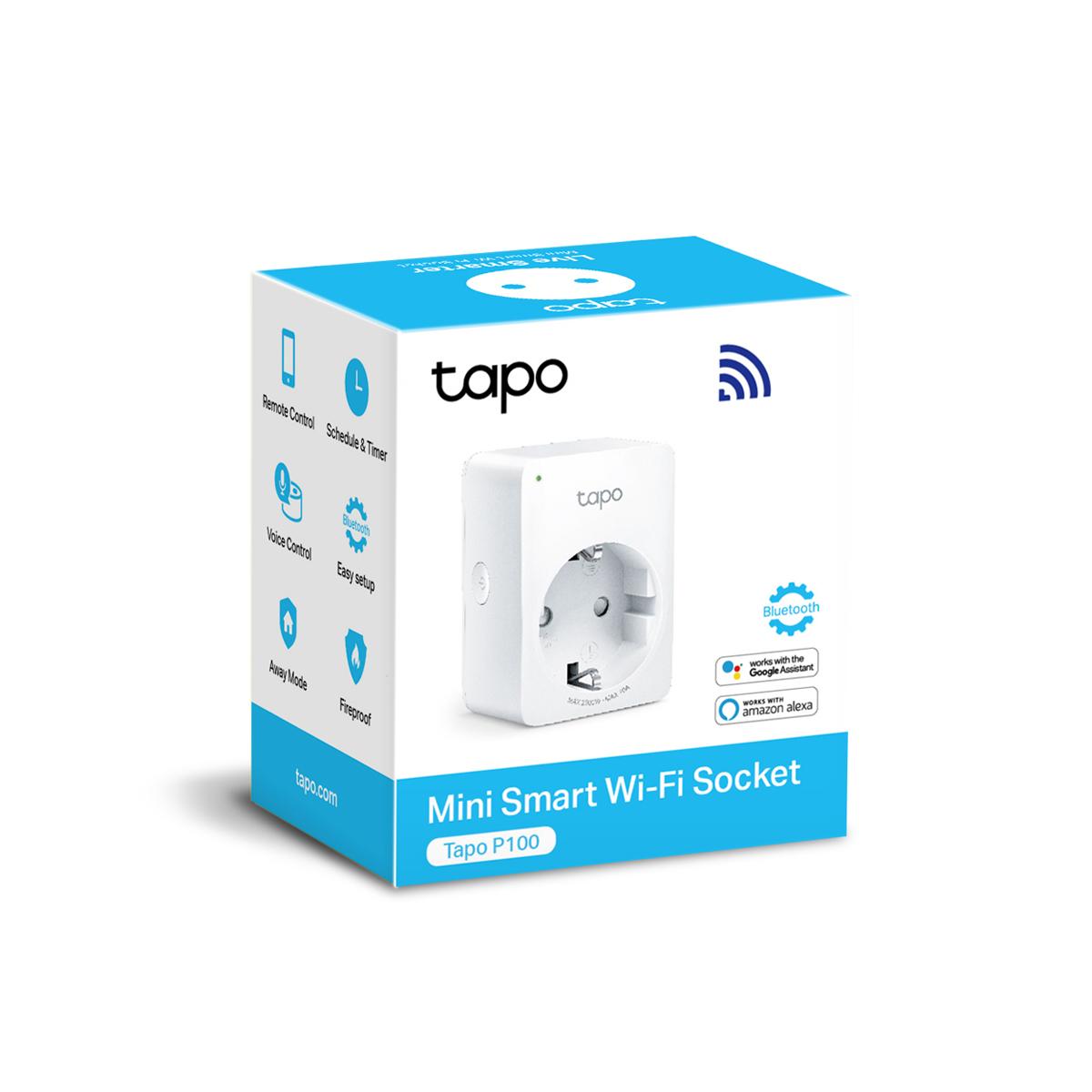 TP-Link Tapo P100 - gniazdko dla oszczędnego i bezpiecznego domu