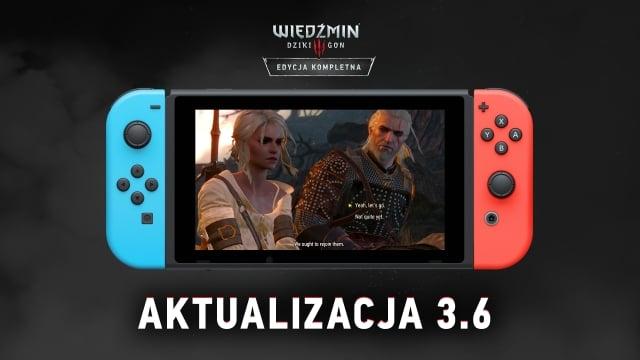 Nowe szaty króla — Wiedźmin 3 na Switcha z dużą aktualizacją 19