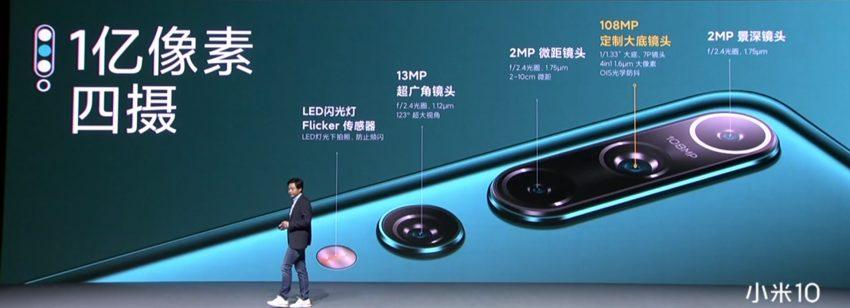 Xiaomi Mi 10 aparat