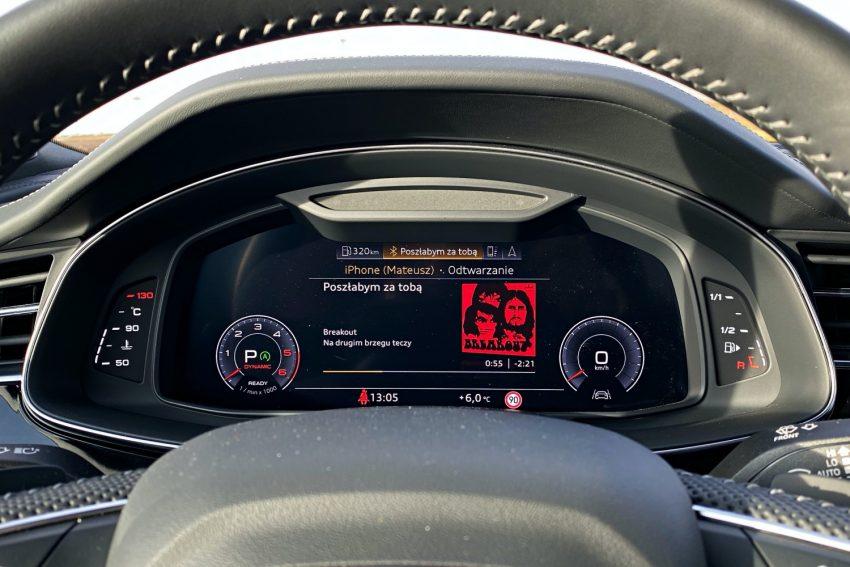 Audi Q7 - cztery pierścienie i aż trzy ekrany. Test technologii po face liftingu