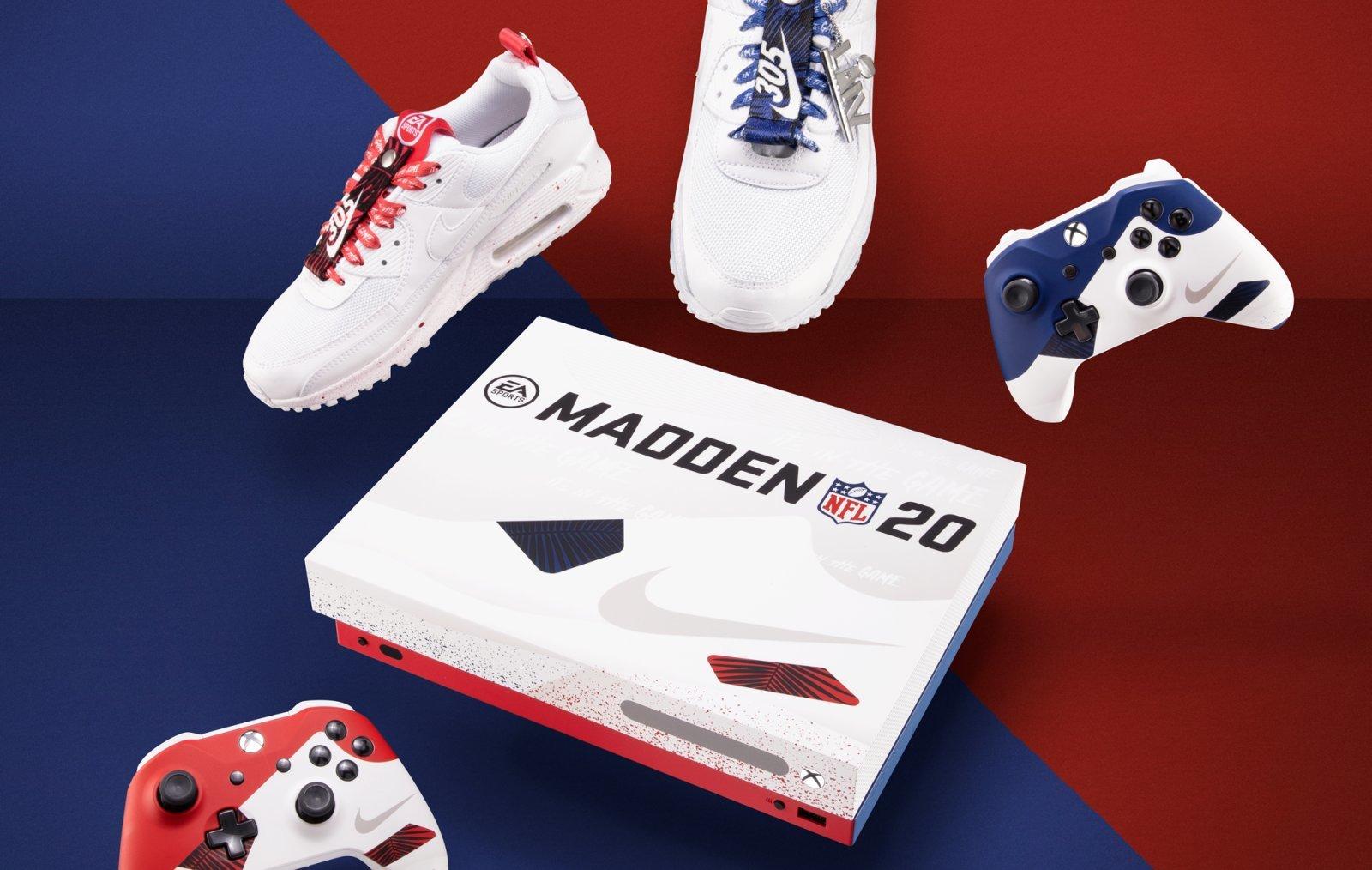 Owoc współpracy Nike, Xbox i EA - limitowane buty i okazjonalna wersja konsoli 24