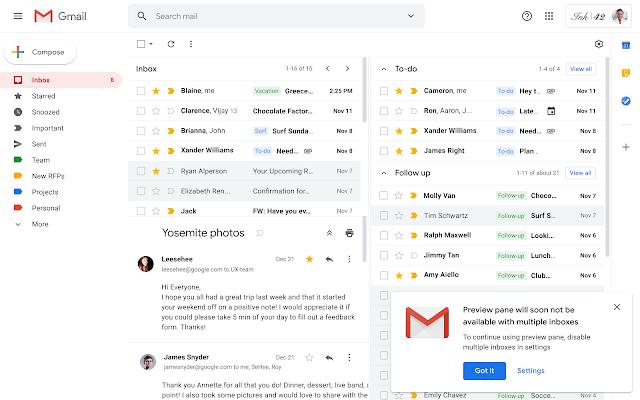 Google dał, Google zabrał. Będą zmiany w obsłudze wielu skrzynek pocztowych Gmail 19