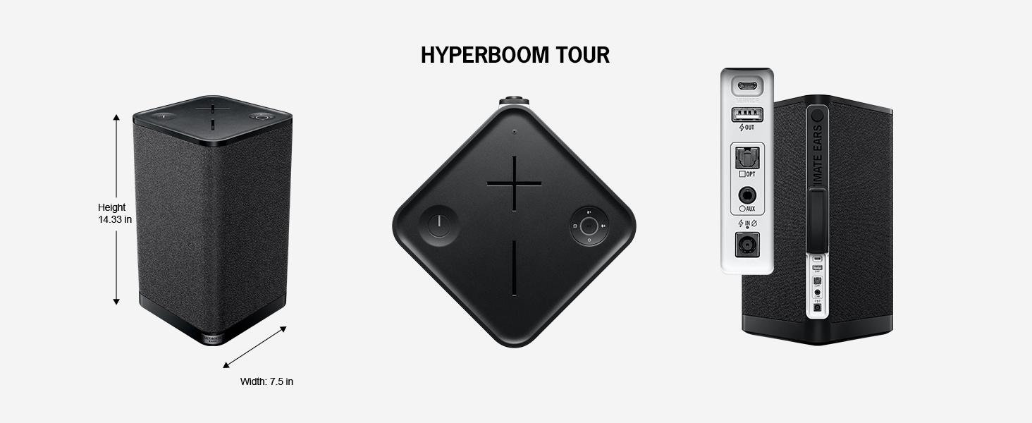Głośnik do zaburzania ciszy nocnej: Ultimate Ears Hyperboom będzie działać przez 24 h