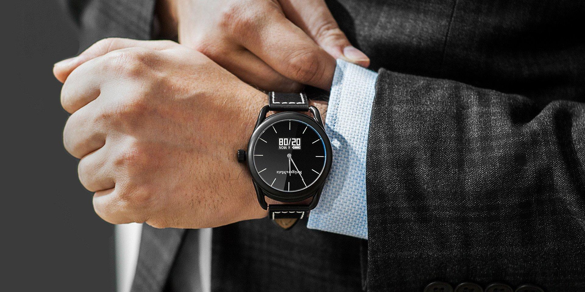 Niedrogi, elegancki, inteligentny zegarek - oto Kruger&Matz HYBRID