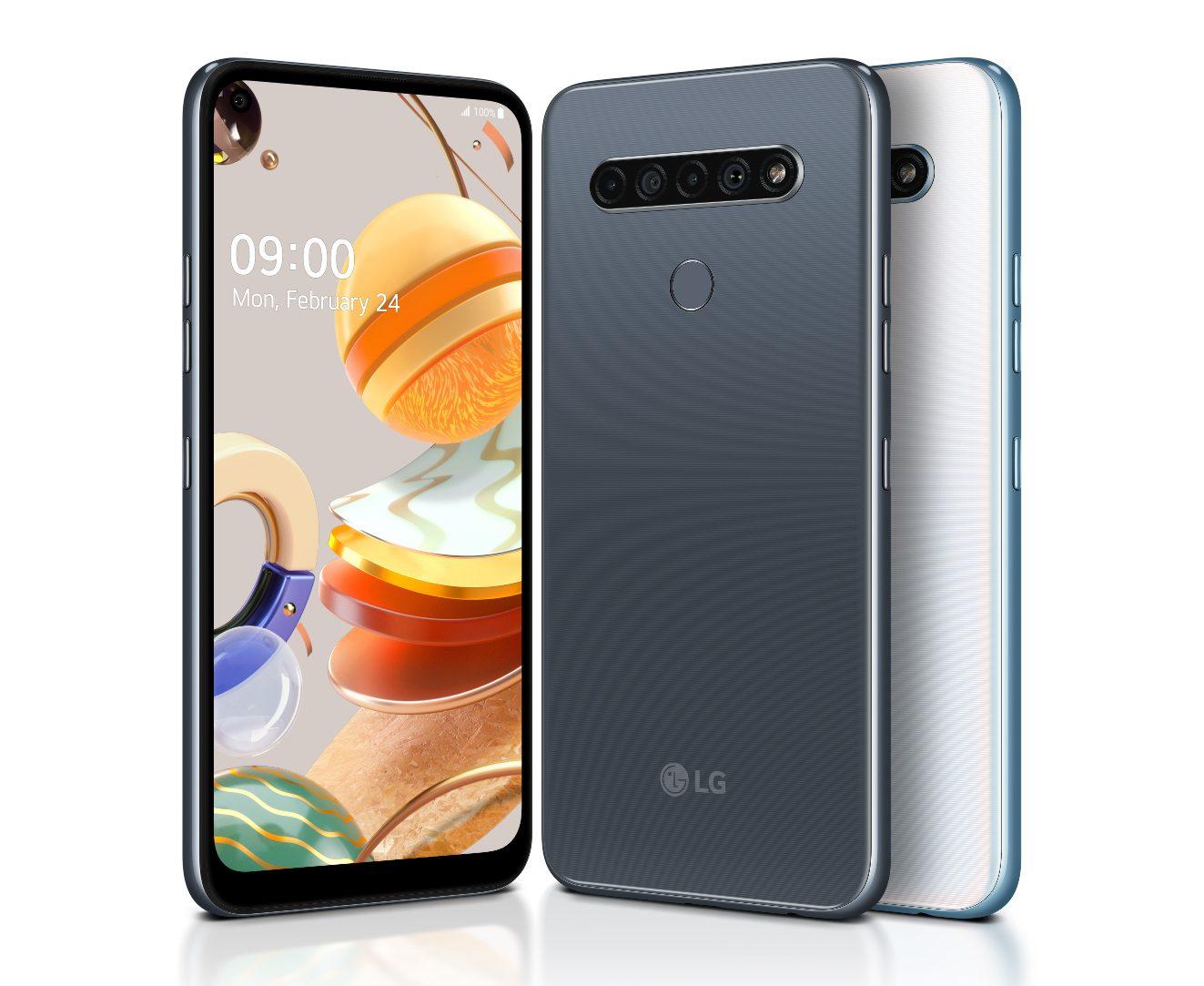 Nawet najsłabszy smartfon LG ma cztery aparaty - premiera modeli K61, K51S i K41S