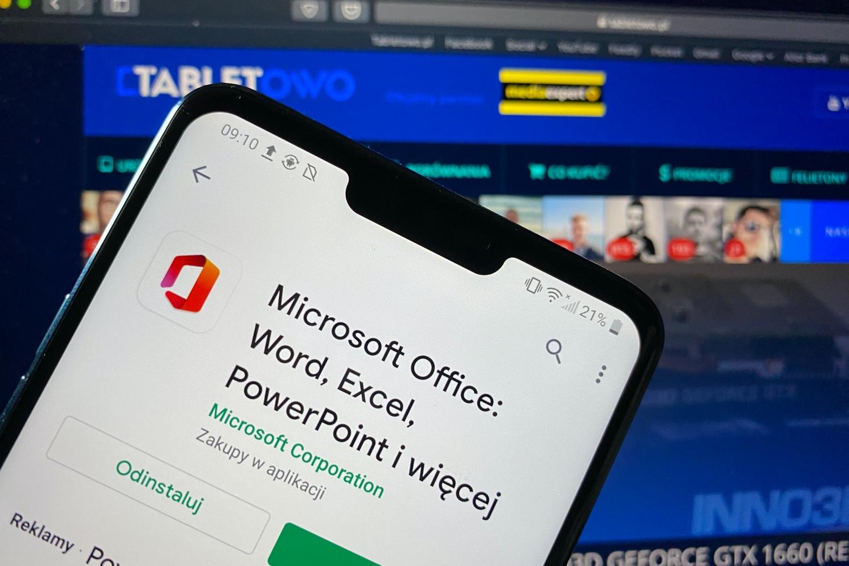 Nowy Microsoft Office na Androida – jedna aplikacja, by wszystkimi rządzić 20
