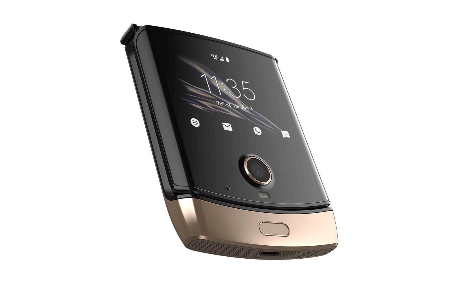 Dobrze jej w złocie. Składana Motorola RAZR zyska nową wersję kolorystyczną