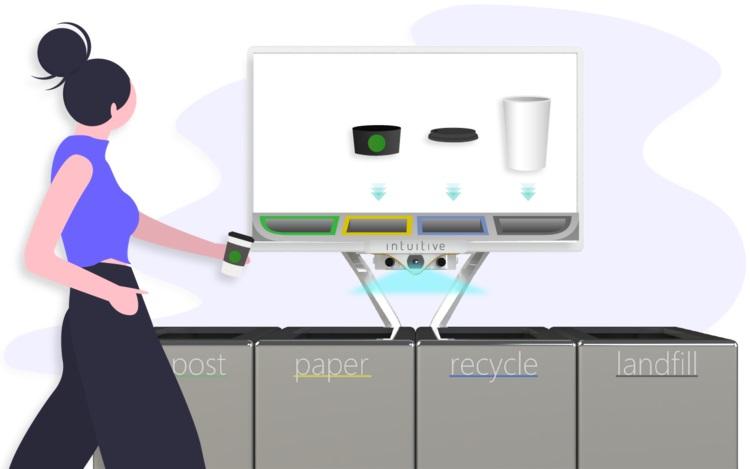 Kosz na śmieci, który zbeszta cię, jeśli wrzucisz odpadki nie do tego kubła, co trzeba