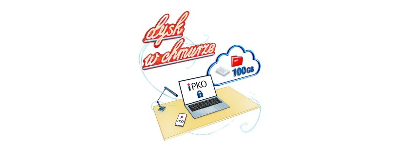 Nowość w PKO BP: darmowe gigabajty w chmurze, ale tylko dla wybranej grupy klientów