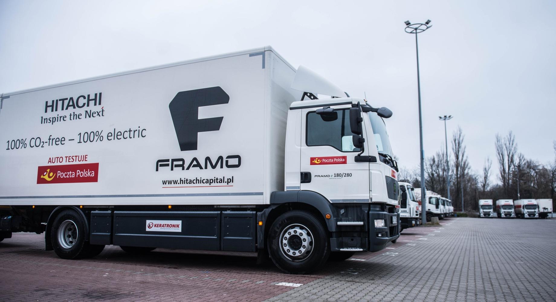 Framo e-truck