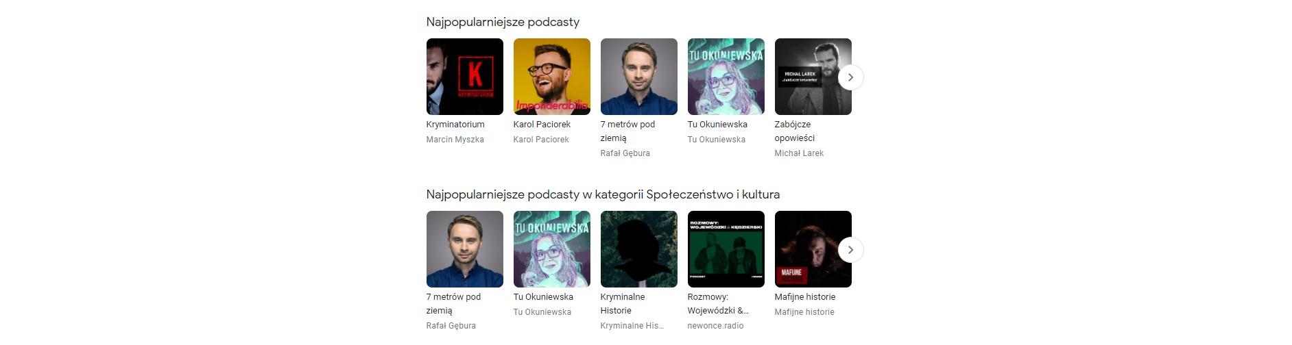 Podcasty Google teraz także w przeglądarce 22