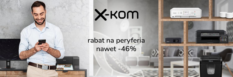 Tydzień promocji na peryferia oraz rabaty (nie) tylko dla kobiet w x-kom