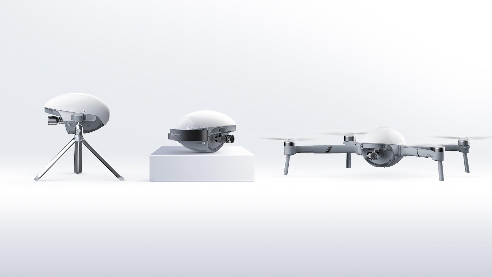 Oto Jajo Mocy: dron, gimbal i inteligentna kamera stacjonarna w jednym 18