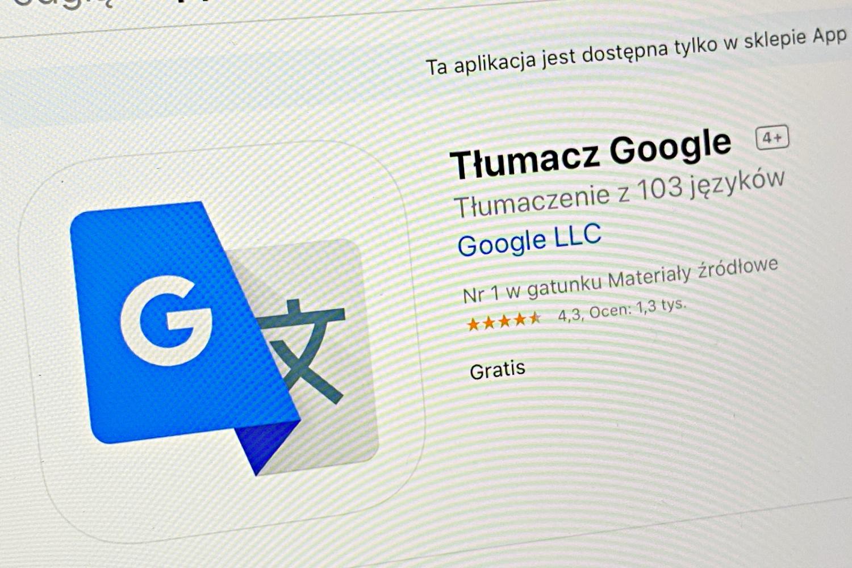 Tłumacz Google w mroczniejszych kolorach. Aplikacja otrzymała Dark Mode