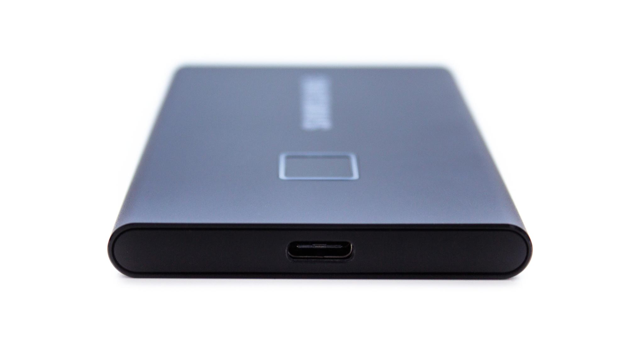 Samsung Portable SSD T7 Touch - dysk chroniony odciskiem palca (test) 20