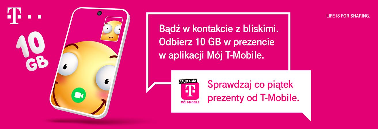 10 GB bezpłatnego internetu dla klientów Play i T-Mobile 22