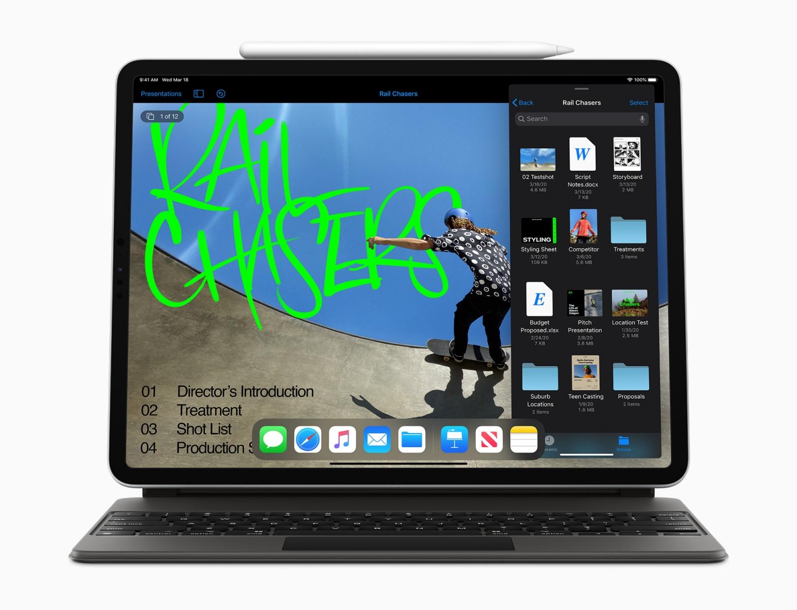 iPad Pro 2020 tablet