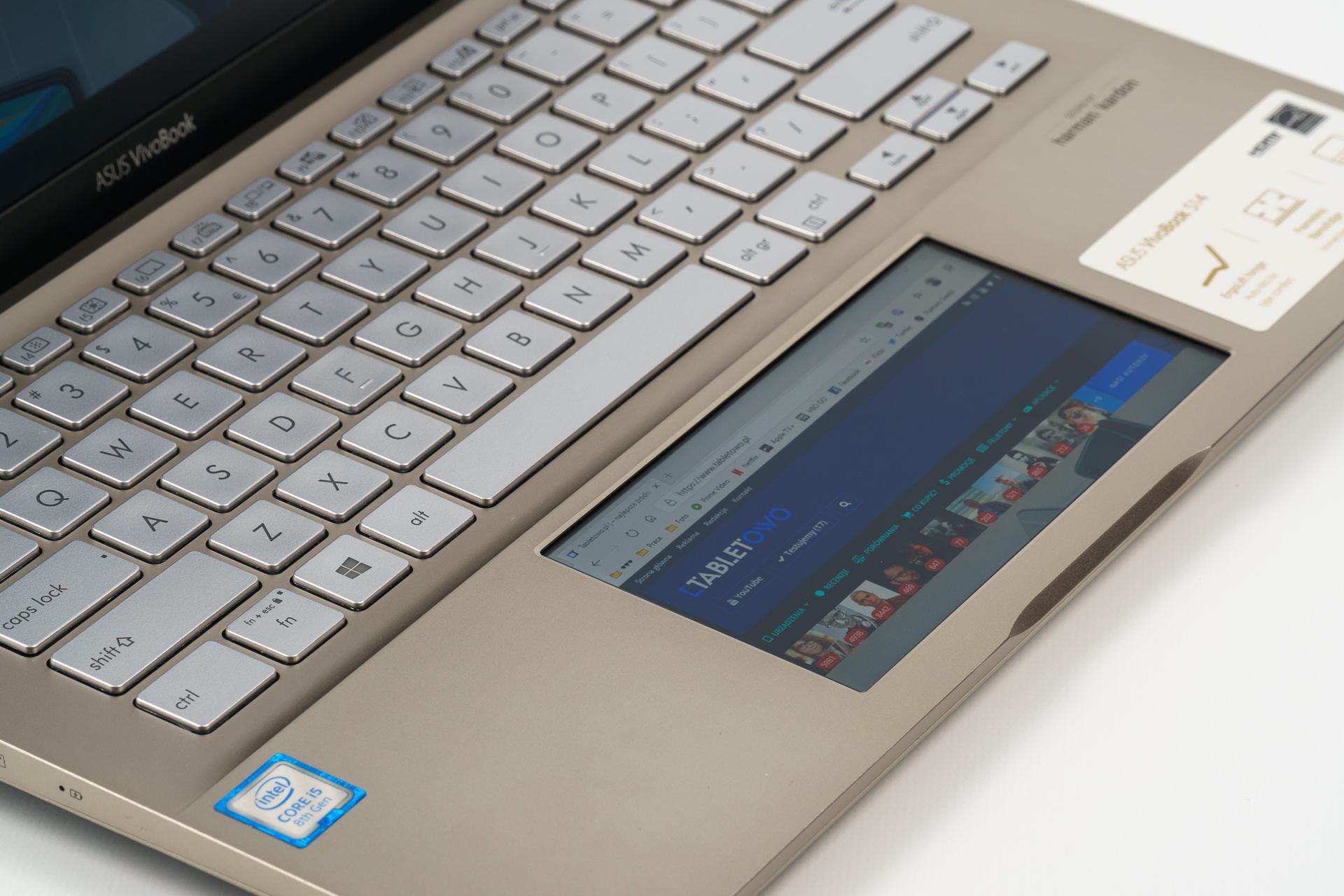 Asus VivoBook ze ScreenPadem, czyli po co w notebooku drugi ekran? 29