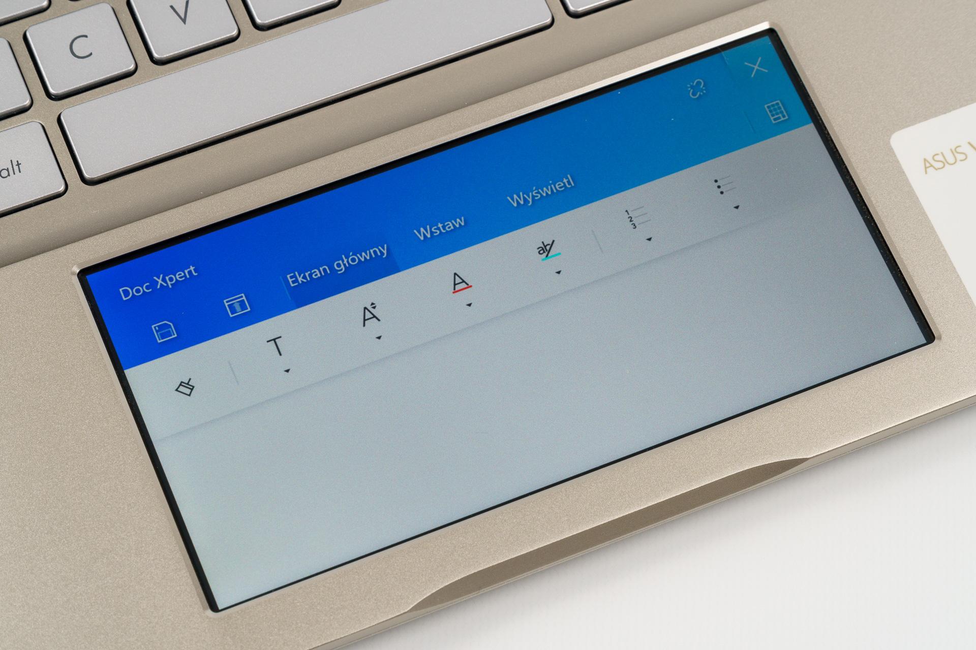 Asus VivoBook ze ScreenPadem, czyli po co w notebooku drugi ekran? 19