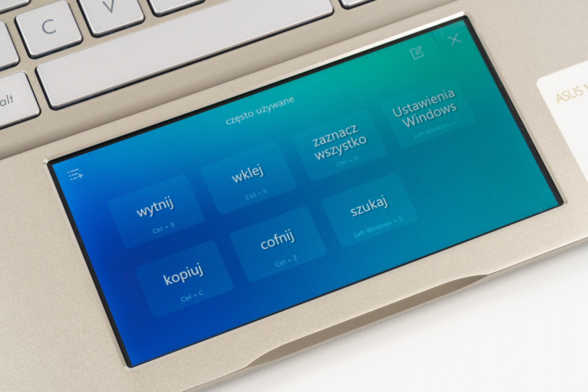 Asus VivoBook ze ScreenPadem, czyli po co w notebooku drugi ekran? 20