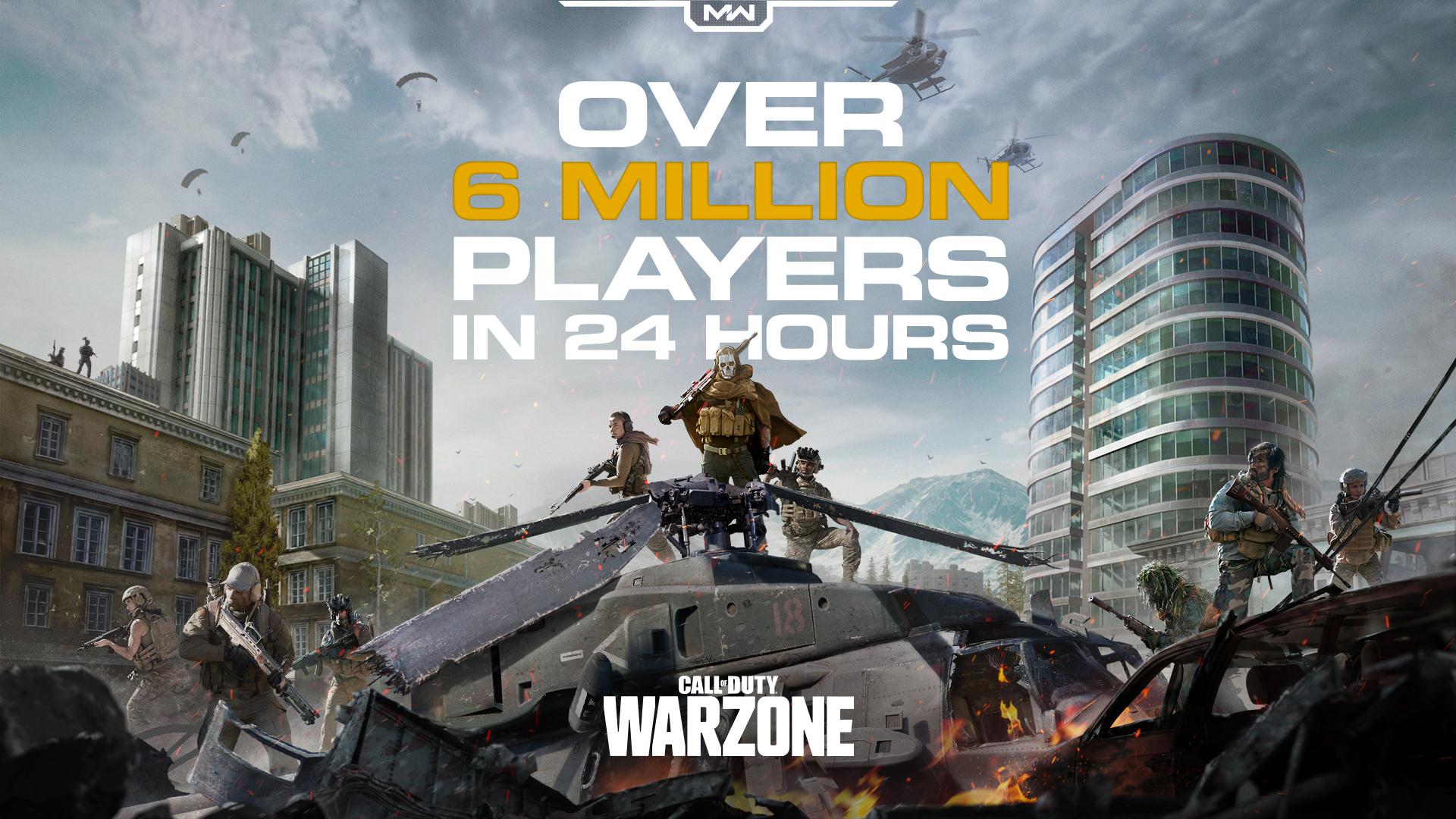 Gra Call of Duty: Warzone bije rekordy popularności!
