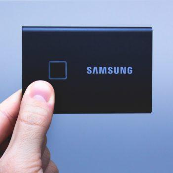 Samsung Portable SSD T7 Touch - dysk chroniony odciskiem palca (test) 41