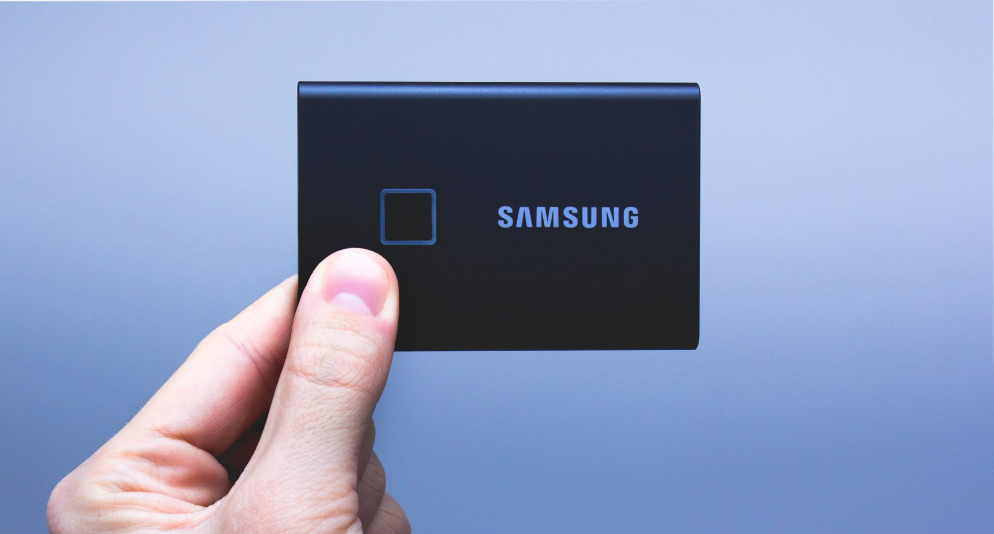 Samsung Portable SSD T7 Touch - dysk chroniony odciskiem palca (test) 19