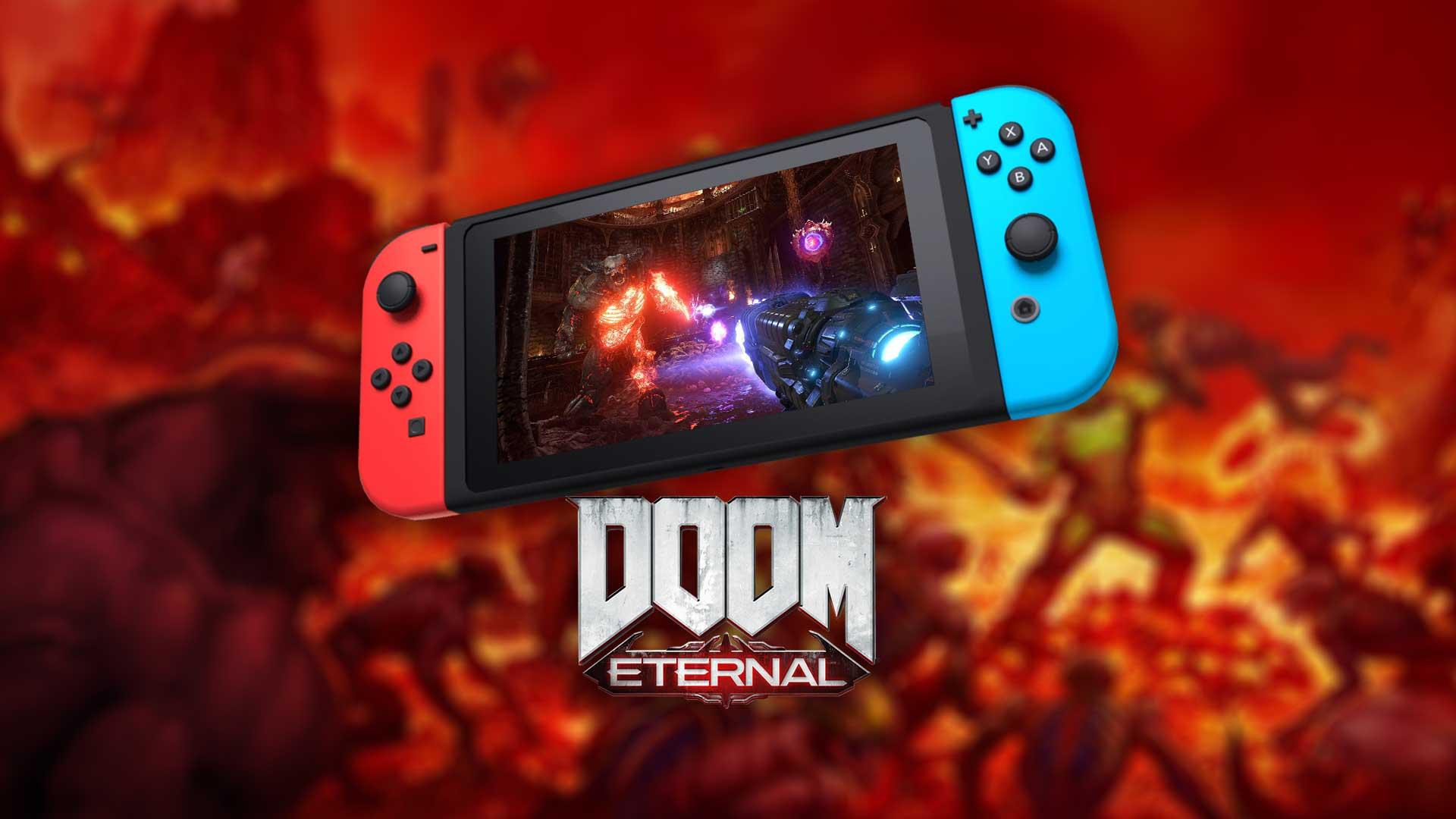 Doom Eternal - wersja na Nintendo Switch wychwalana przez dyrektora gry 24