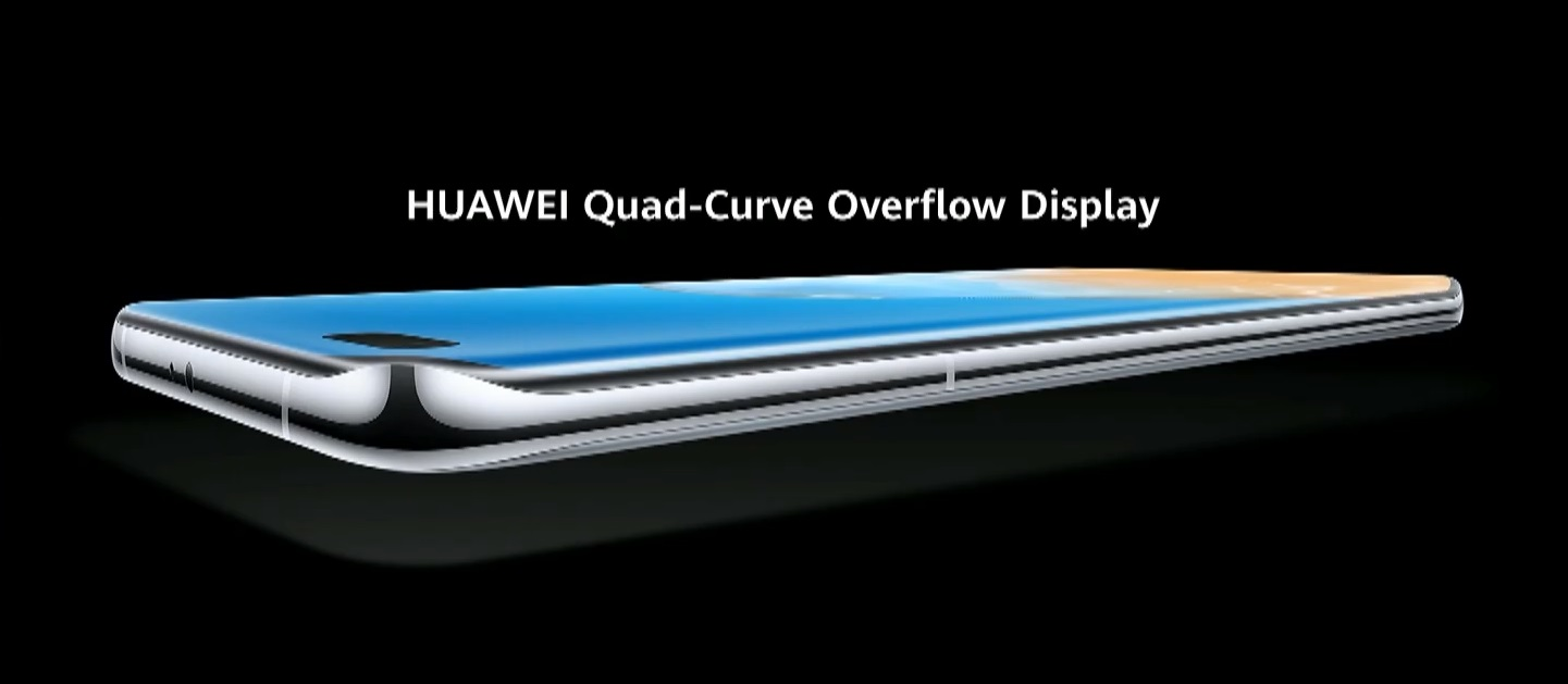 Huawei P40 Pro screen display