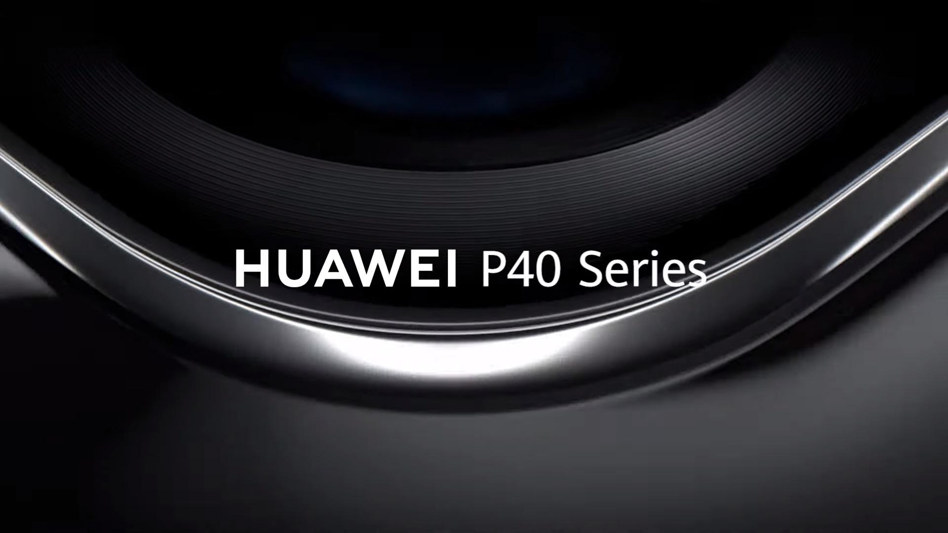 Huawei P40 series teaser