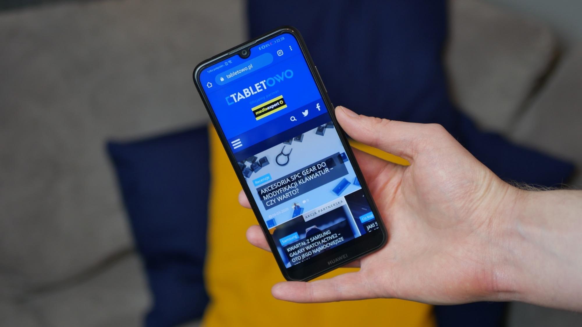Huawei Y6s / fot. Kacper Żarski (Tabletowo.pl)