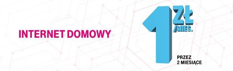T-Mobile: 2 miesiące internetu domowego za złotówkę