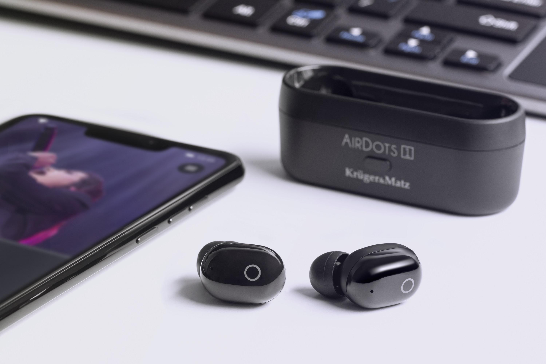 słuchawki bezprzewodowe TWS Kruger&Matz AirDots 1
