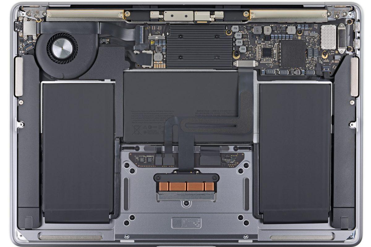 Apple MacBook Air 2020 teardown