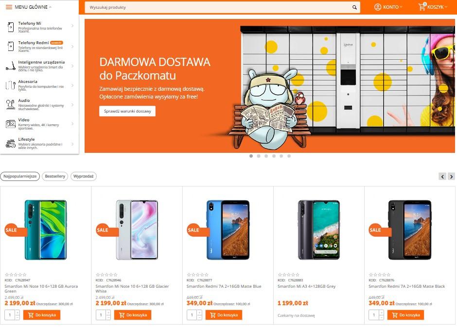 Salony Mi Store zamknięte, w sieci ruszają promocje na produkty Xiaomi