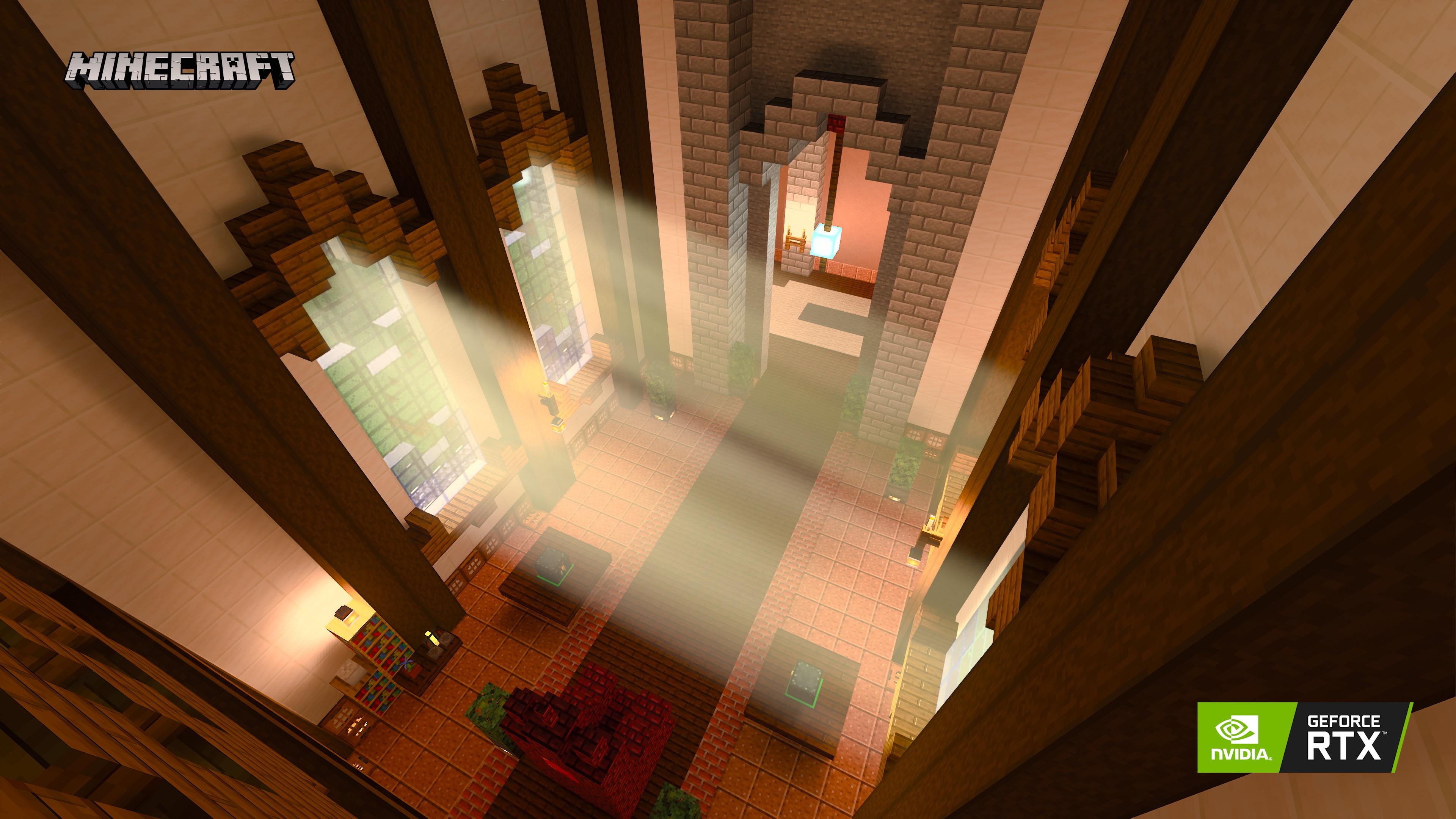 NVIDIA chwali się działaniem ray tracingu w Minecraft, bo naprawdę jest czym 22