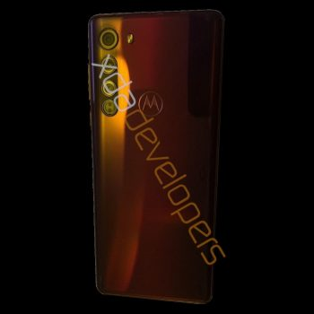 Motorola Edge smartphone