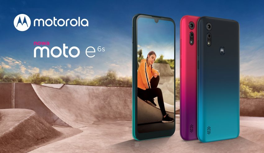 Motorola Moto E6s smartphone