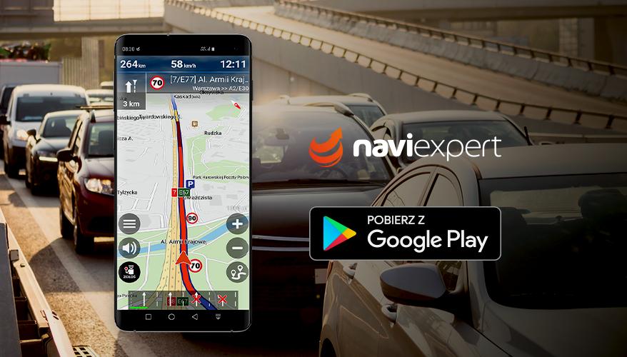 NaviExpert na Androida z usprawnioną prezentacją korków