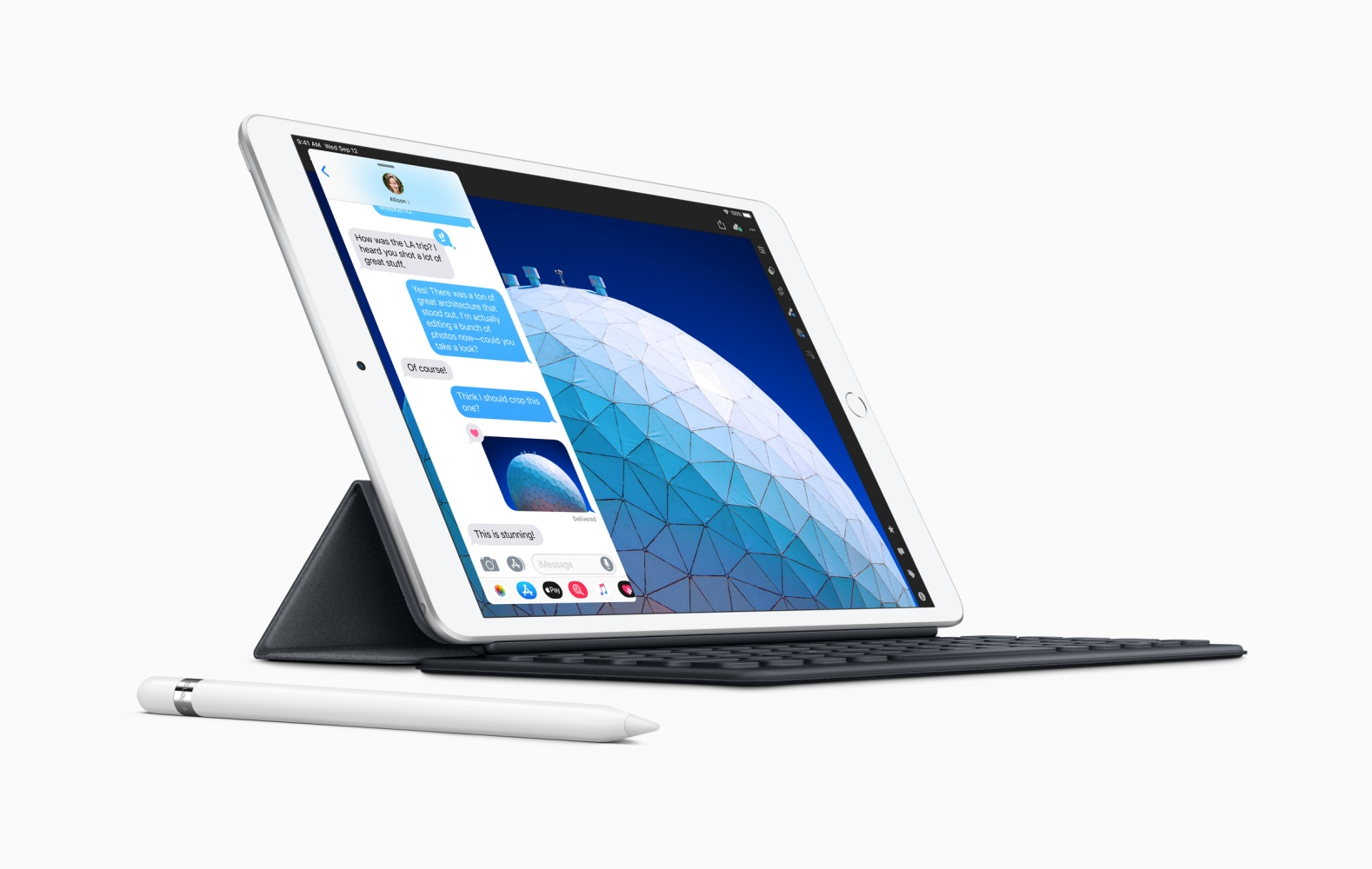 Nowy iPad Air bez złącza Lightning i z większym ekranem