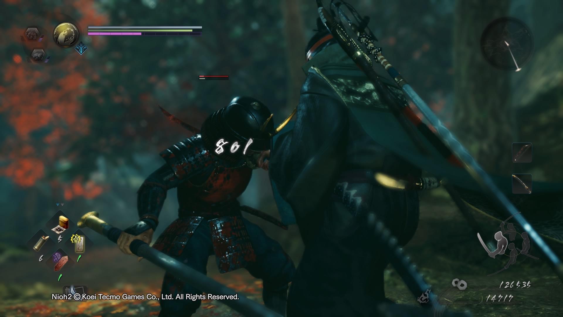Recenzja gry NiOh 2 - więcej, lepiej, bardziej ninja 25